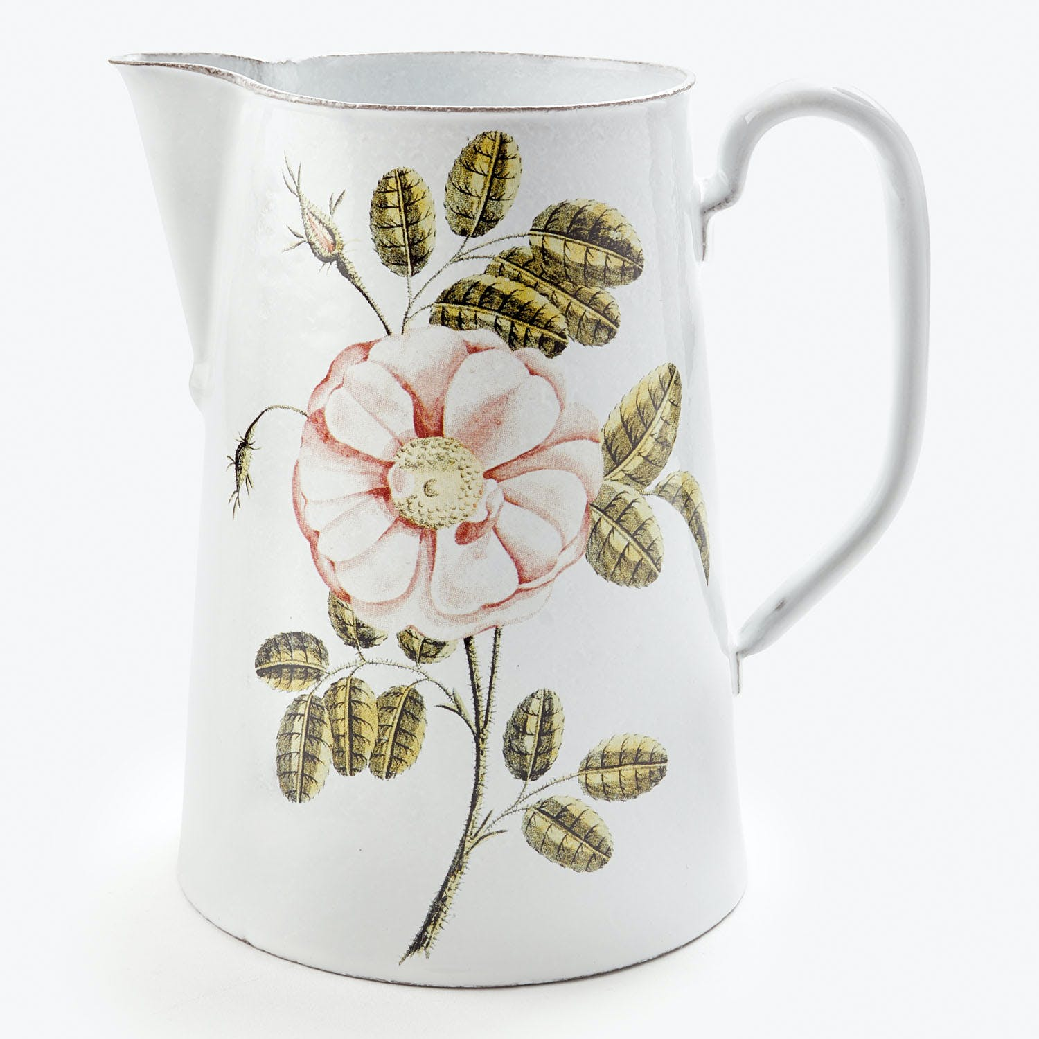 John Derian for Astier de Villatte Rose Pitcher