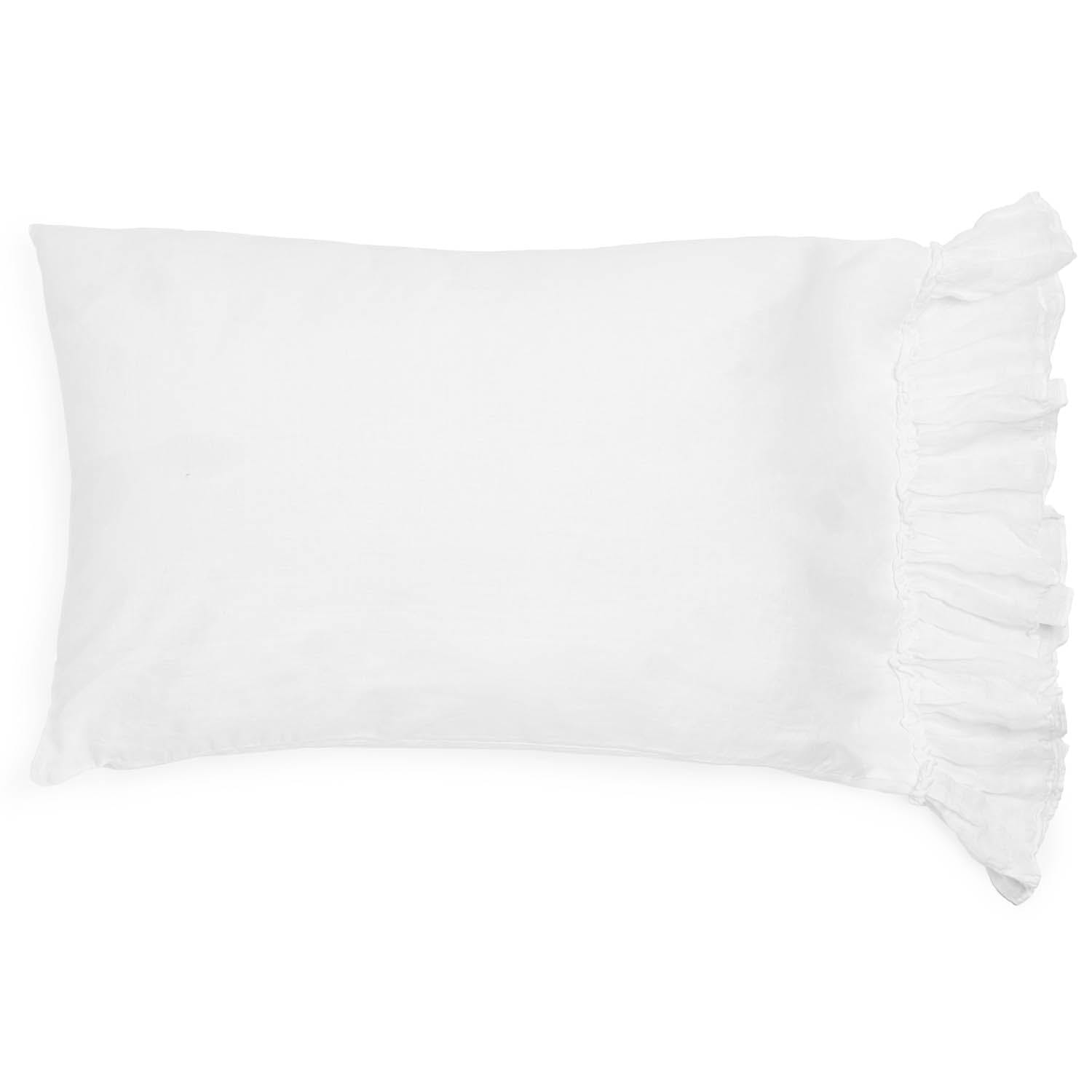 Product Image - Whisper Linen King Pillowcase White