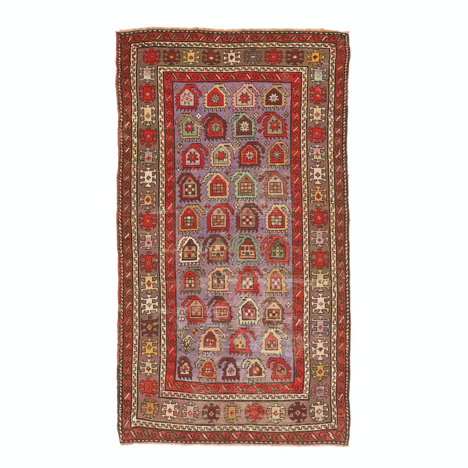 Product Image - Antique Shirvan Rug - 4'x7'