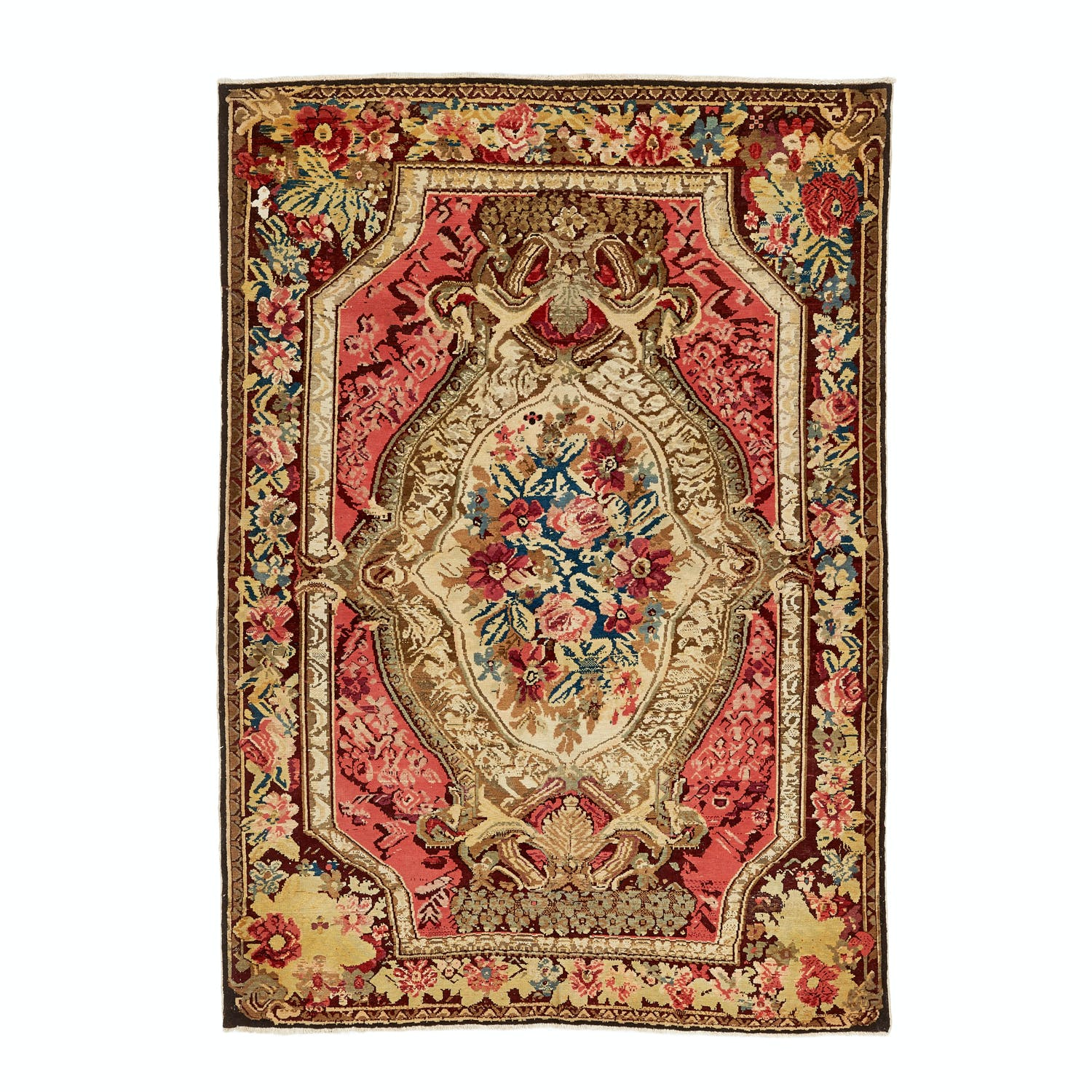 Product Image - Antique Karabagh Rug -4'x6'