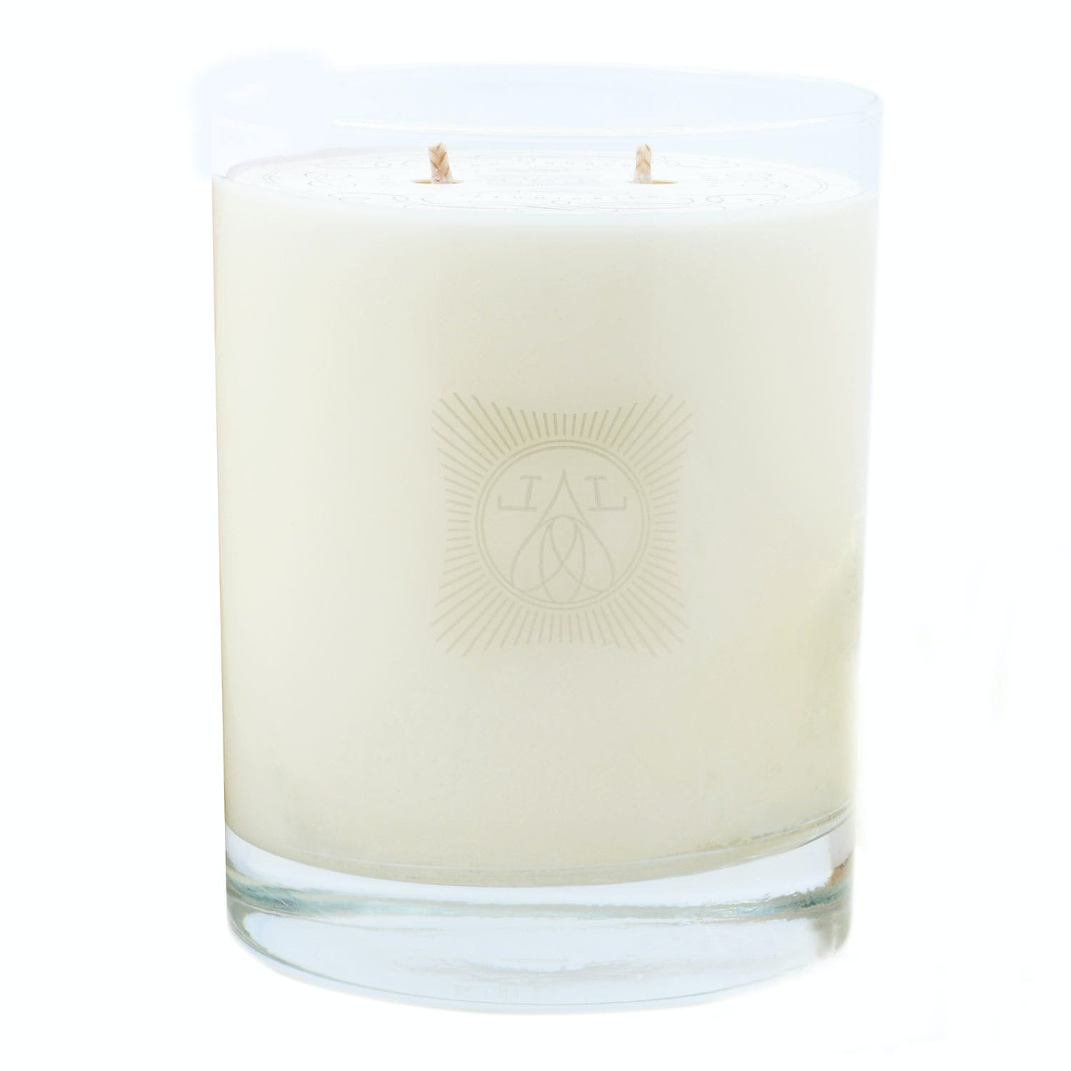 Linnea's Lights Double-wick Lavender Candle