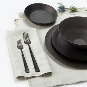 Product Image - Ripple Dark Gray Tall Cereal Bowl