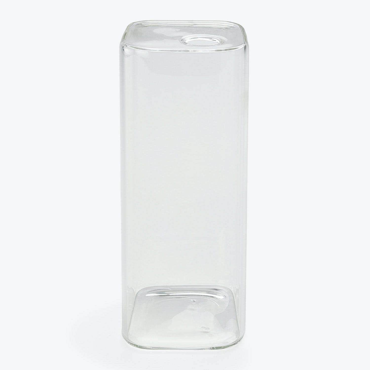 Large Rectangular Bud Vase