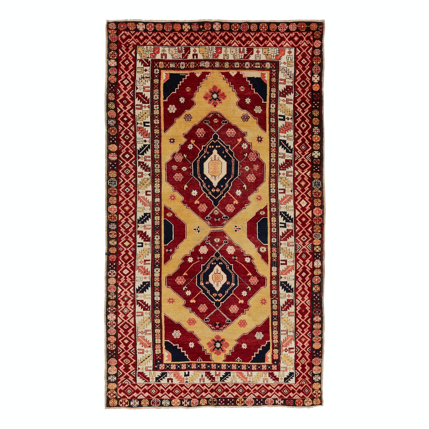 Product Image - Antique Caucasian Rug-5'x9'