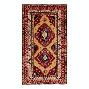 Product Image - Antique Caucasian Rug - 5'x9'