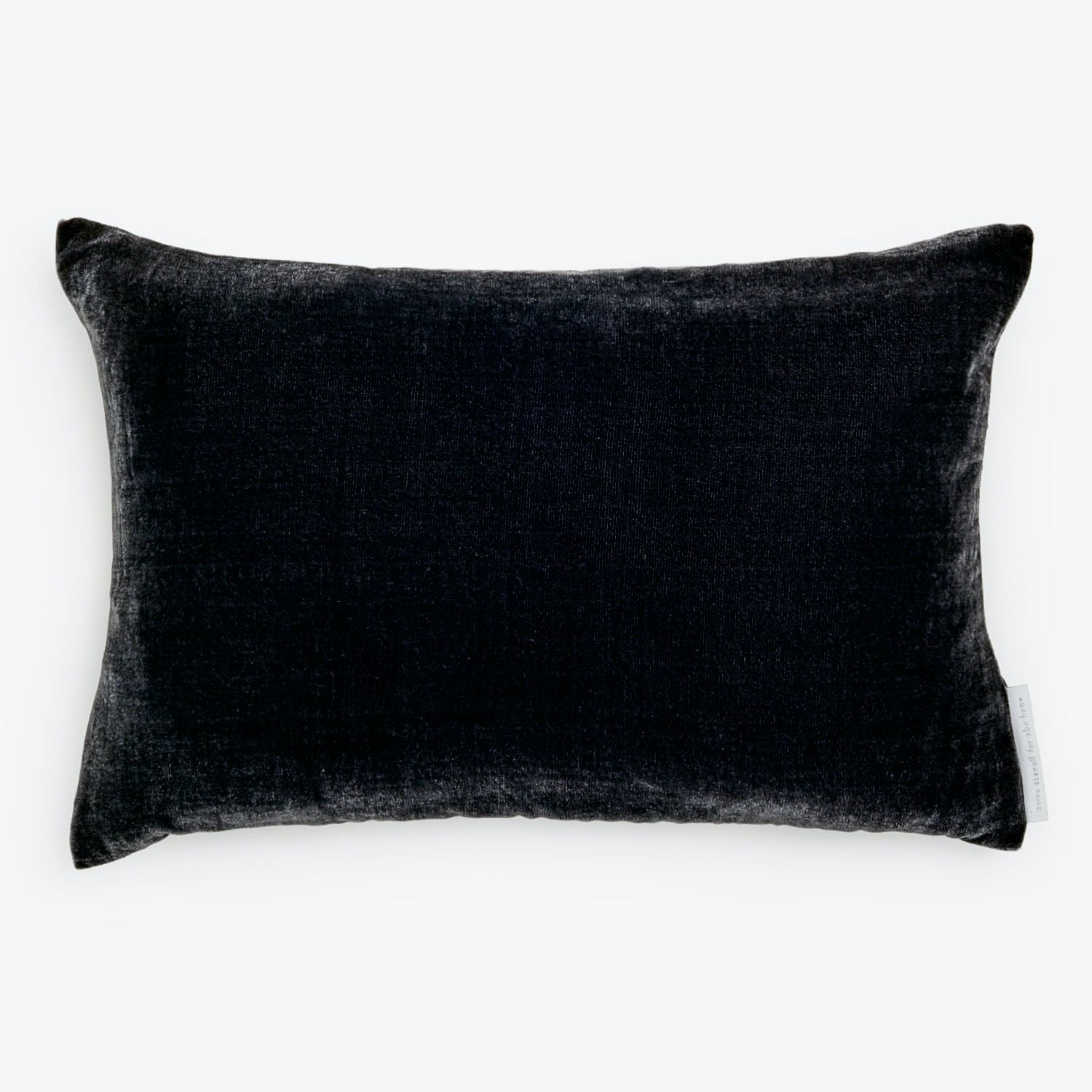 Product Image - Velvet Pillow Charcoal