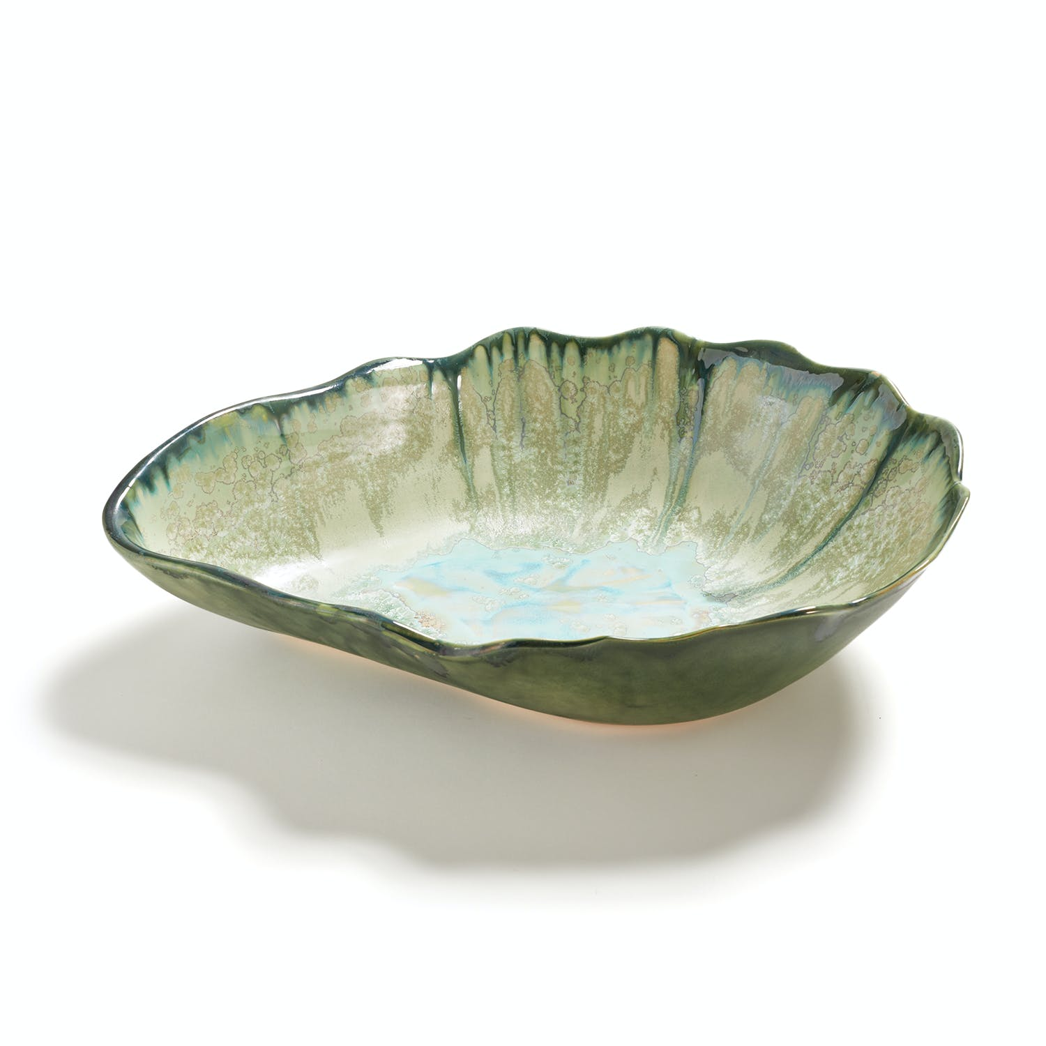 Oyster Collection Large Nesting Bowl