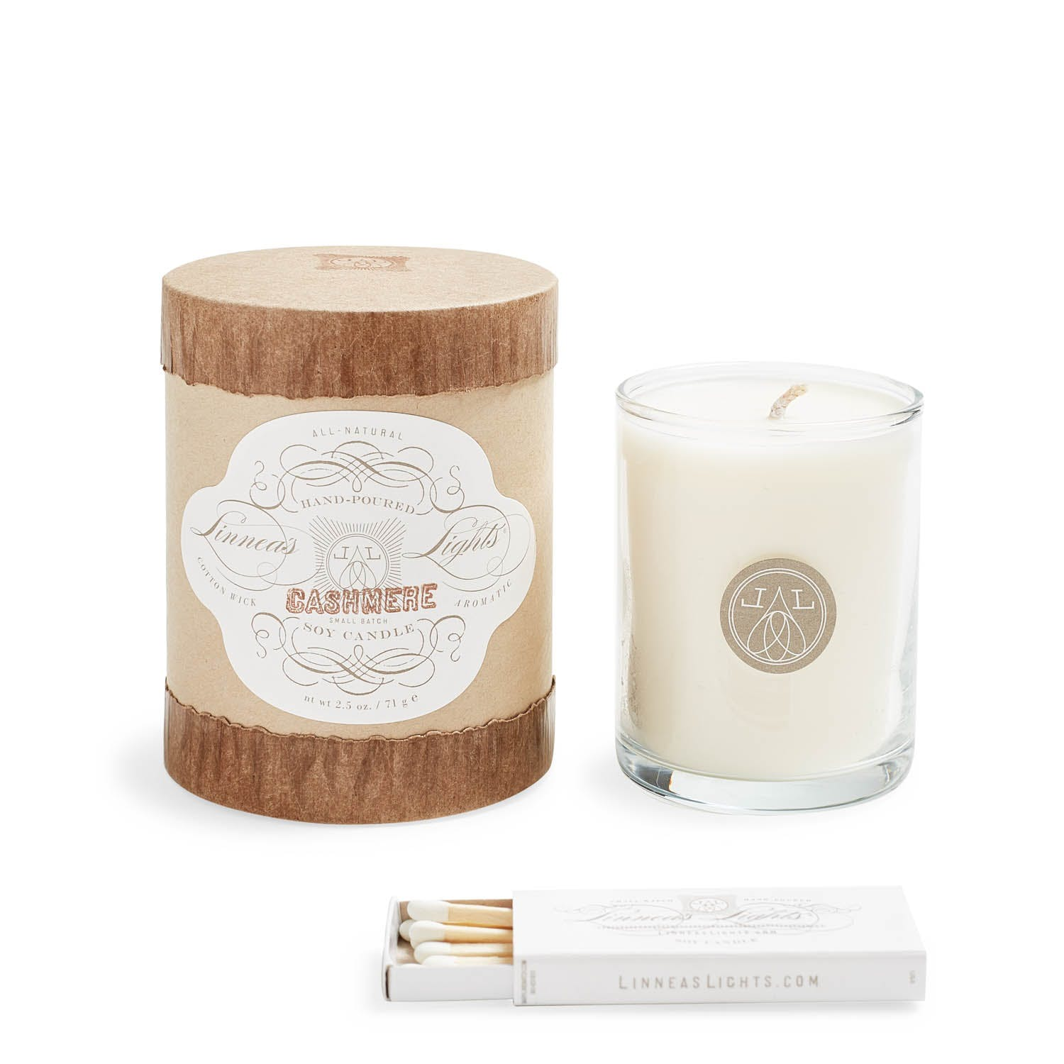 Linnea's Lights Cashmere Votive Candle