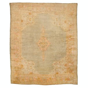 Product Image - Antique Oushak Rug - 13'x16'