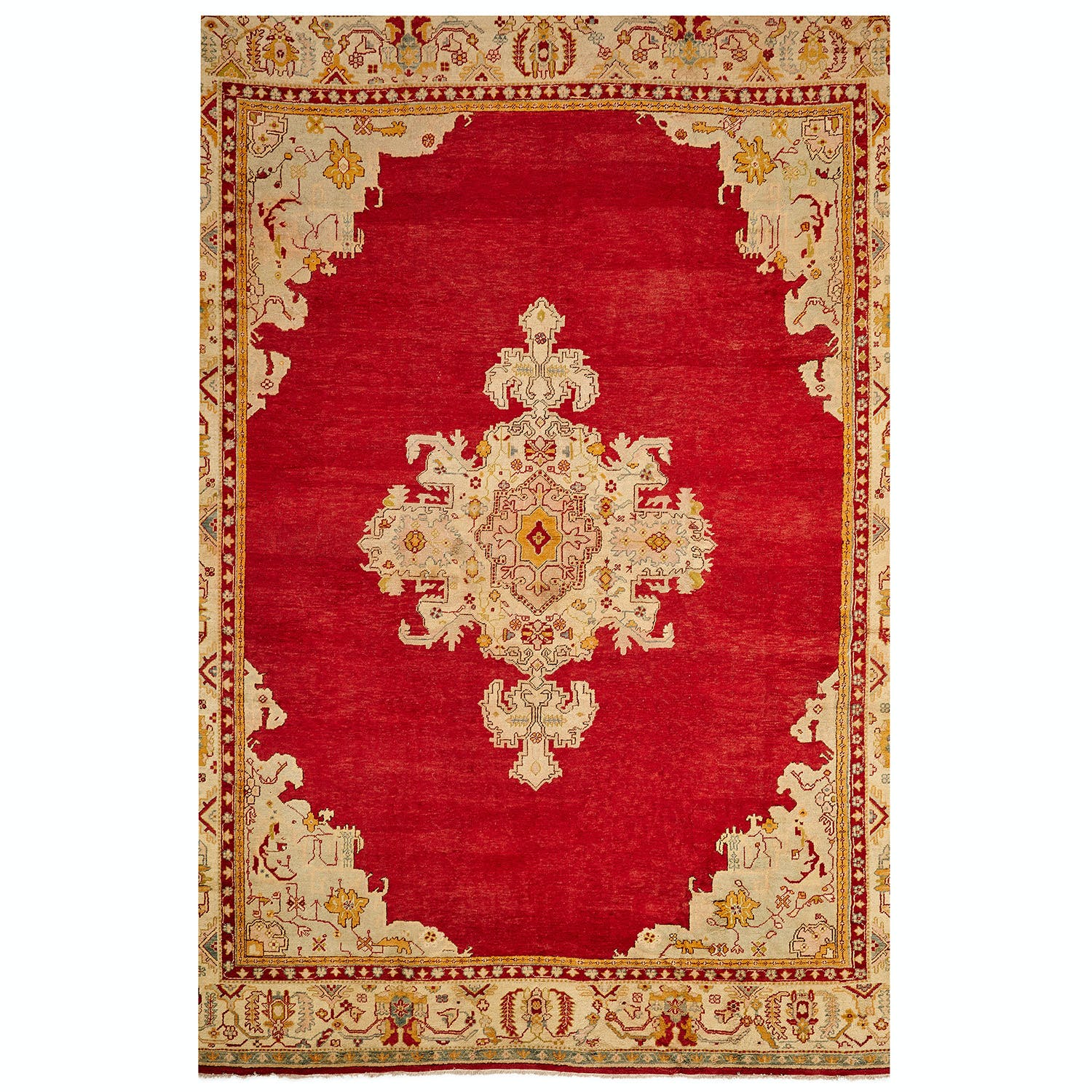 Product Image - Antique Oushak Rug -15'x19'