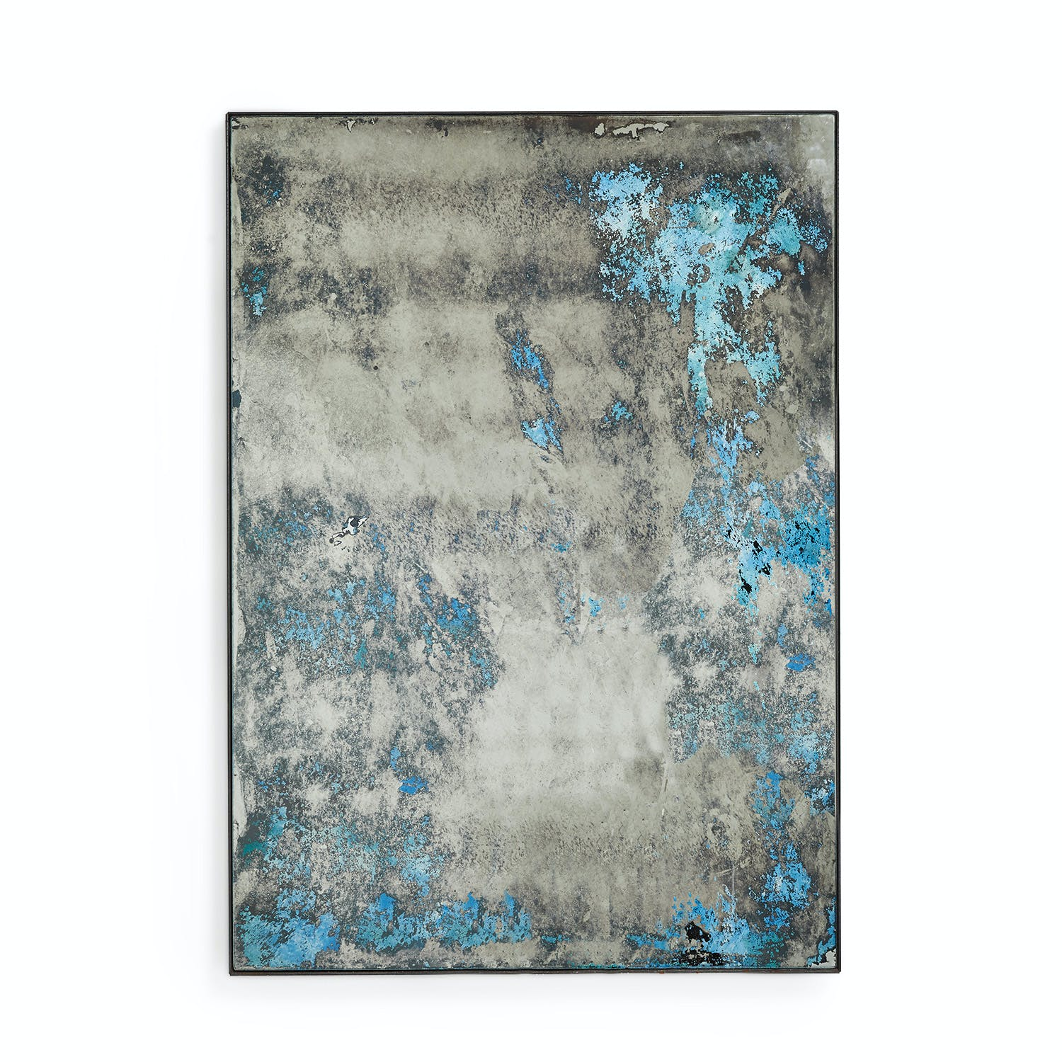 Product Image - Echo Distressed Mirror Ocean Blue