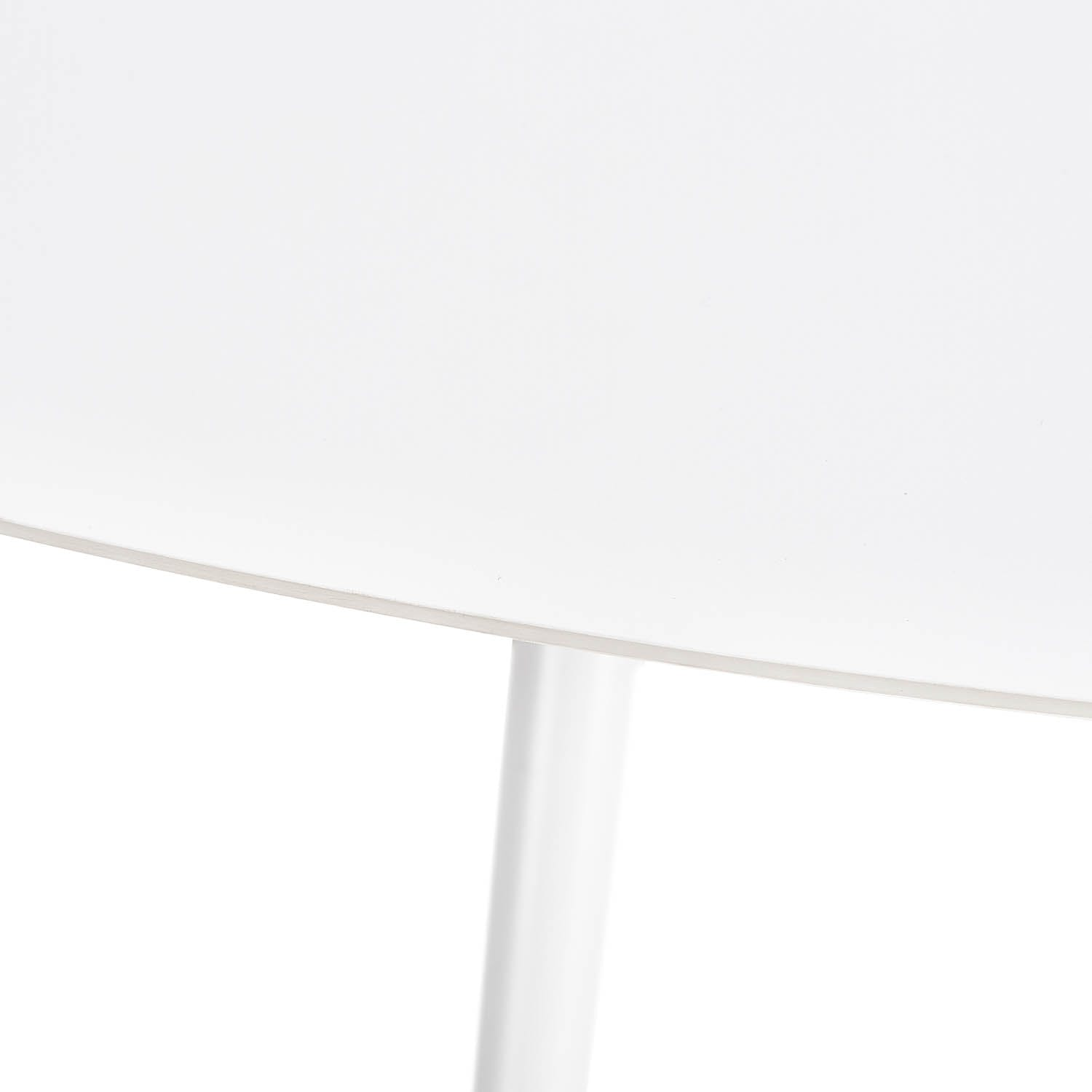 Pulp Round Dining Table White
