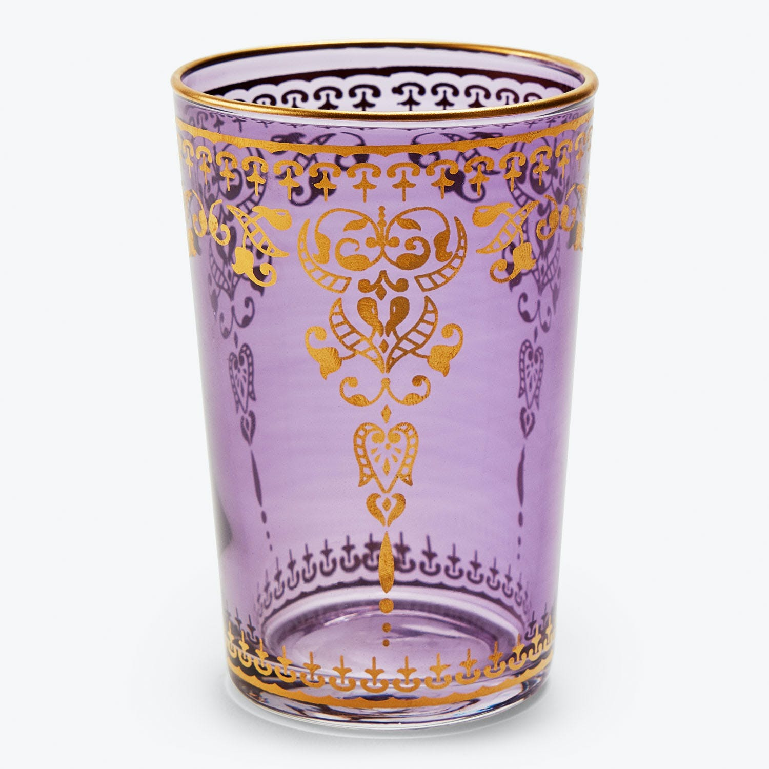 Product Image - Souk Violet Moroccan Glass Cup