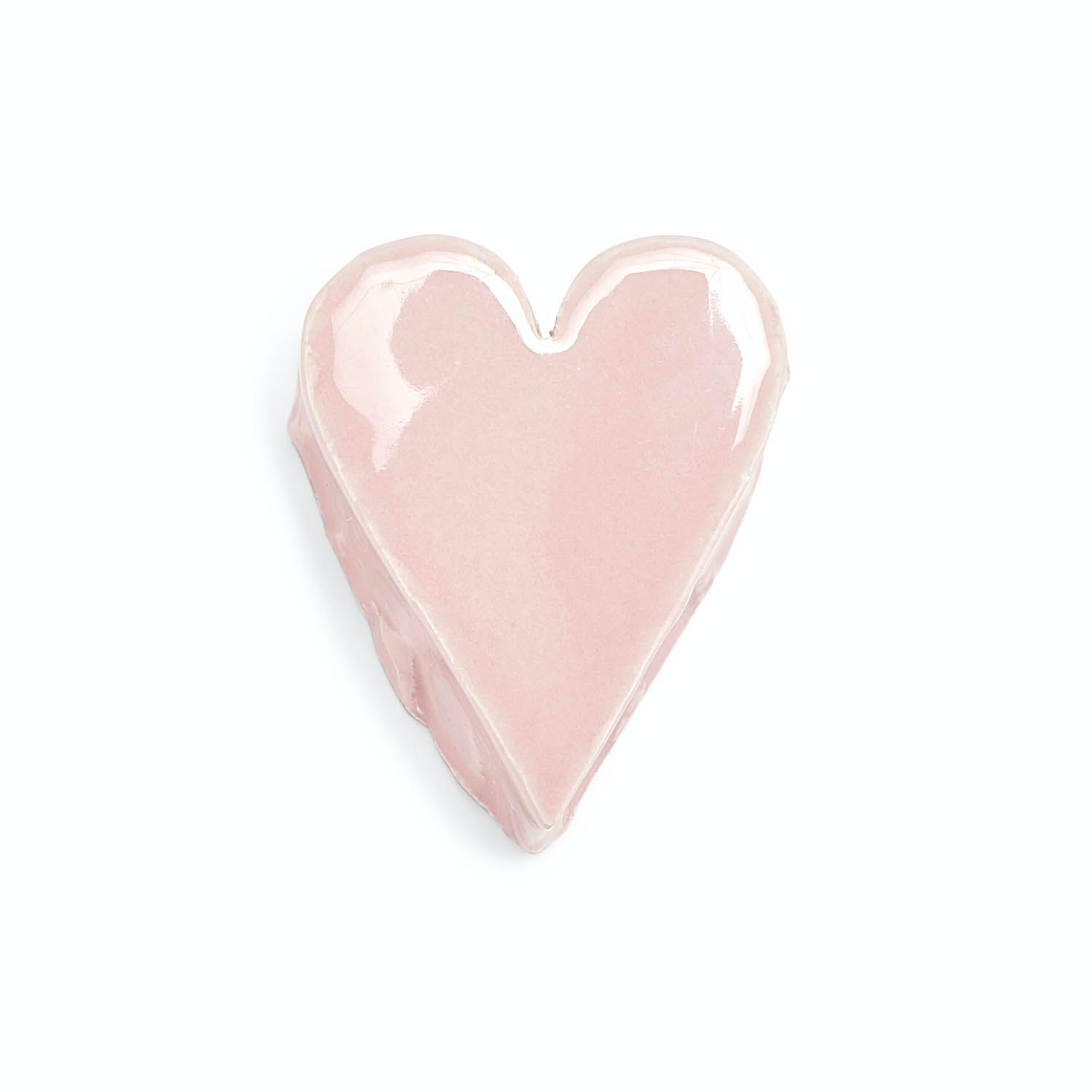 Made in Clay Pink Heart