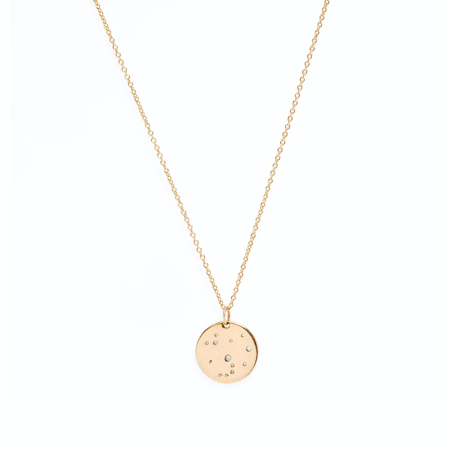 Aili Jewelry Gold Constellation Necklace