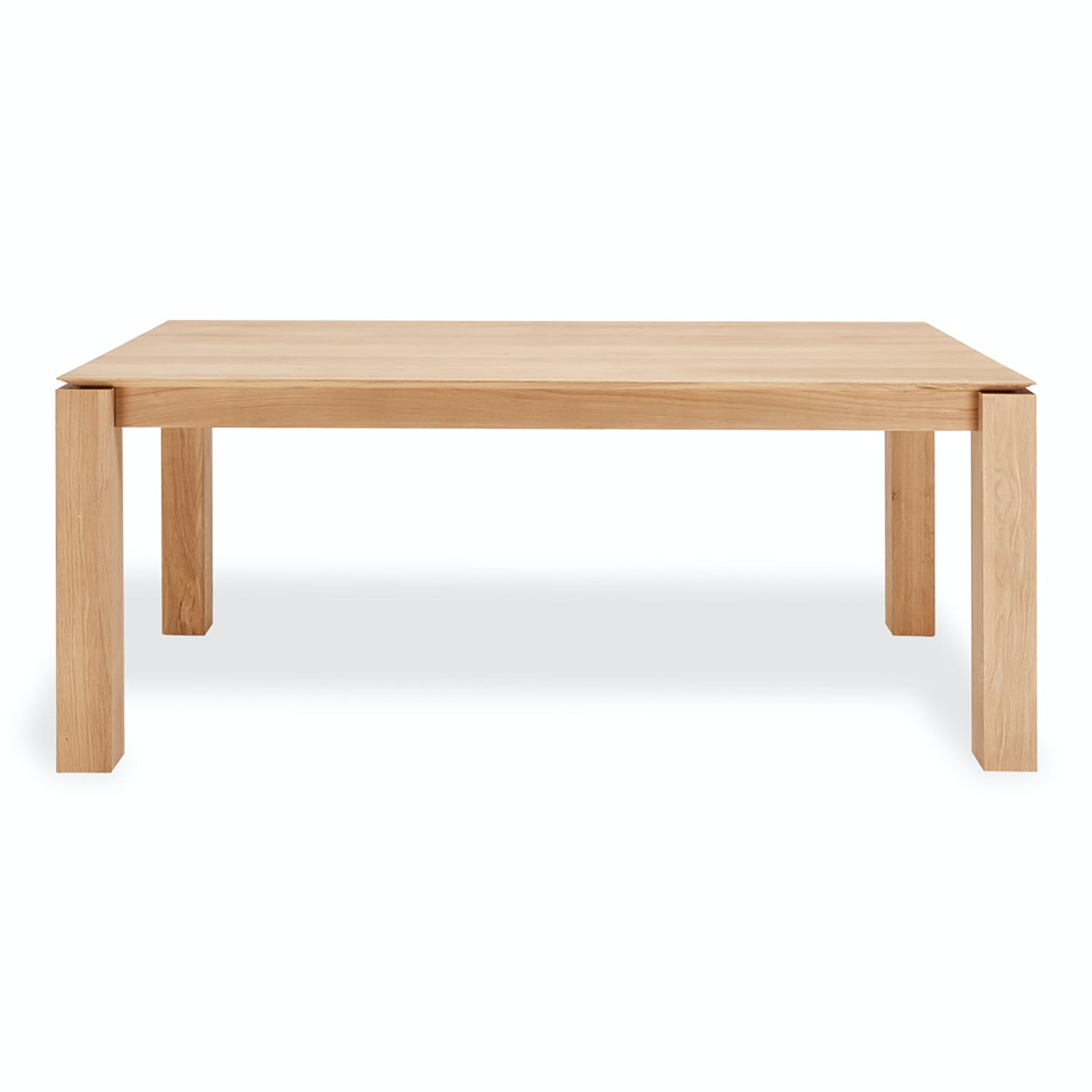 Product Image - Oak Slice Extendable Dining Table
