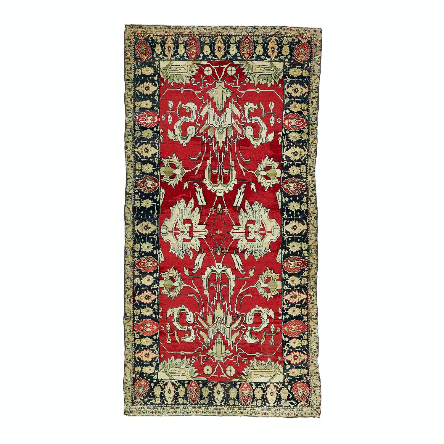"Product Image - Antique Agra Rug - 4'2""x8'"