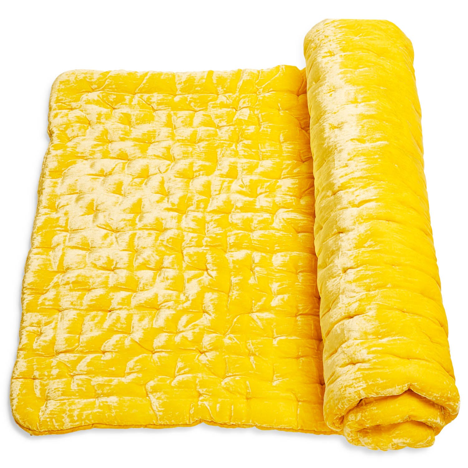 abcDNA Luminous Citron Velvet Meditation Mat