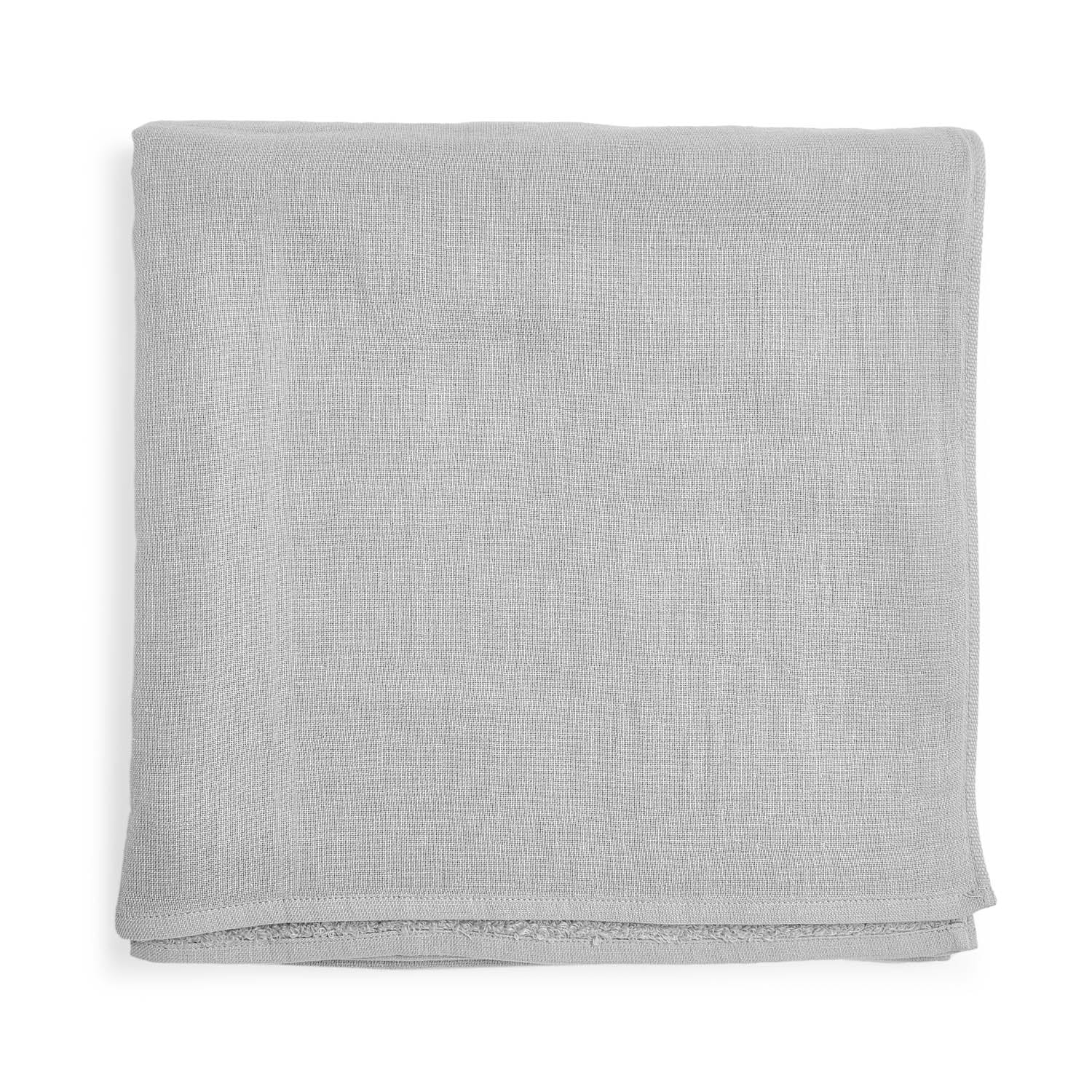 Uchino Gauze Bath Towel Light Gray