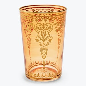 Product Image - Souk Orange Moroccan Glass Cup