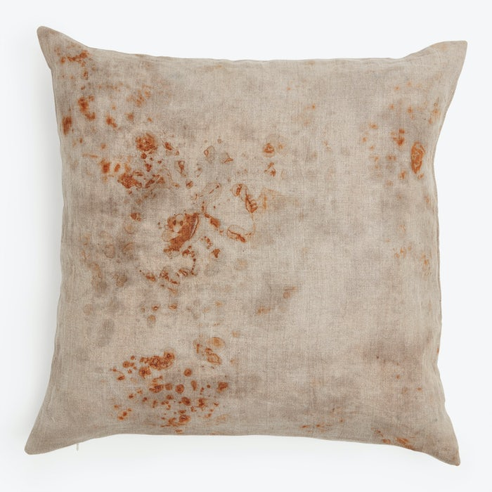 Product Image - Antique Linen Pillow Rust