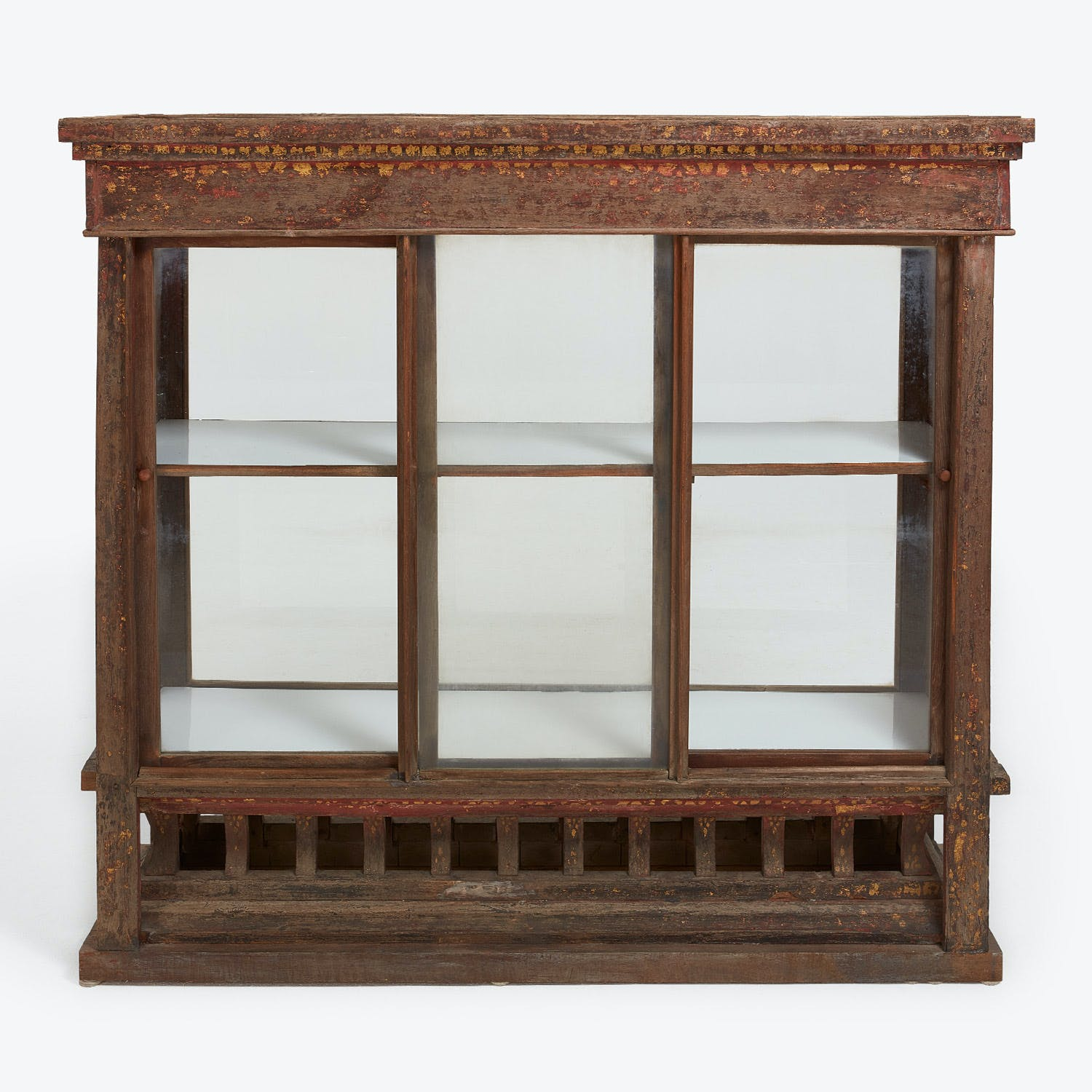 Antique Thai Display Cabinet