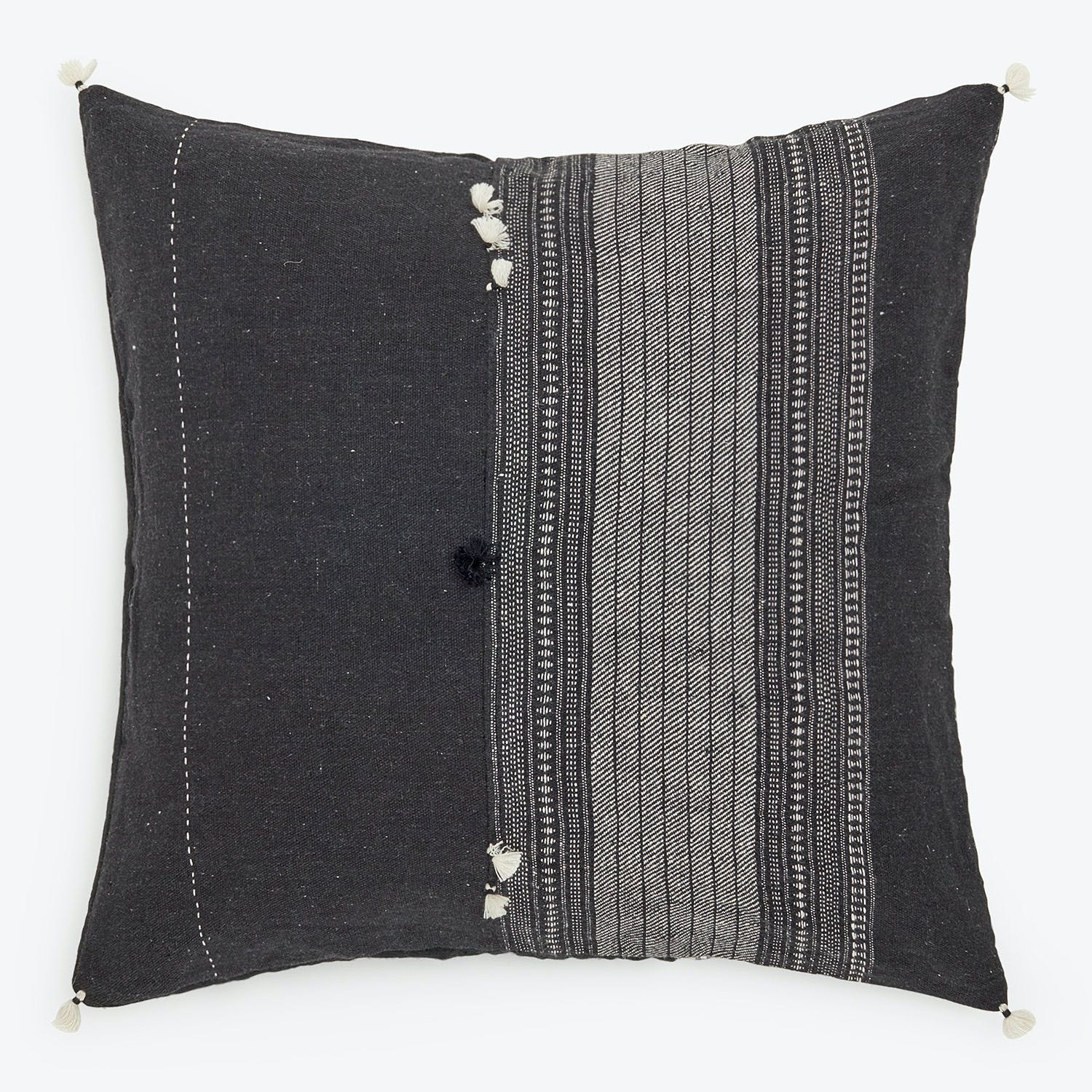 Product Image - Small Rebari Pillow Black