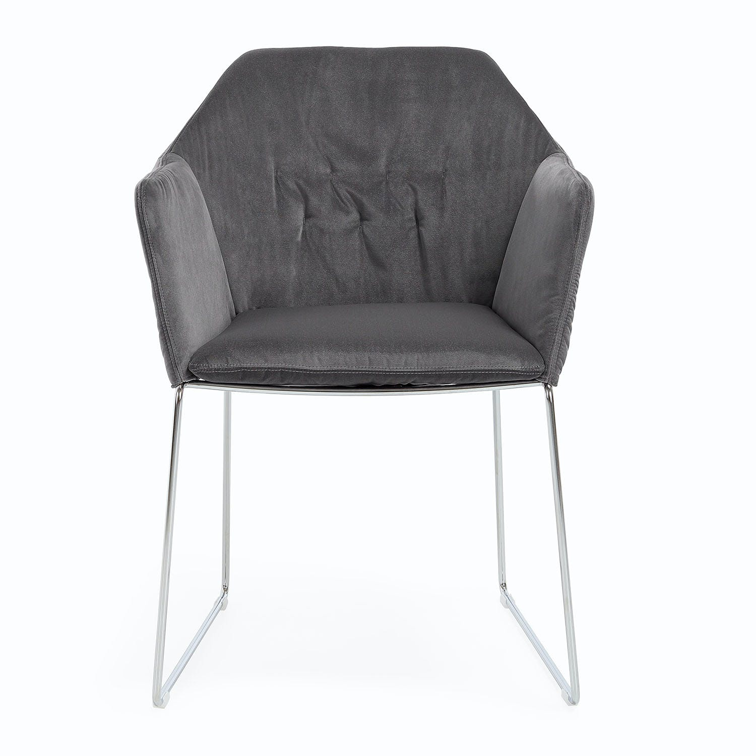 Saba Aston Velvet Dining Chair