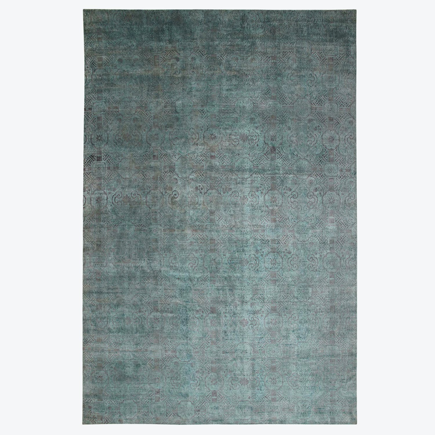 "Aquasilk Overdyed Rug - 16'3""x24'4"""