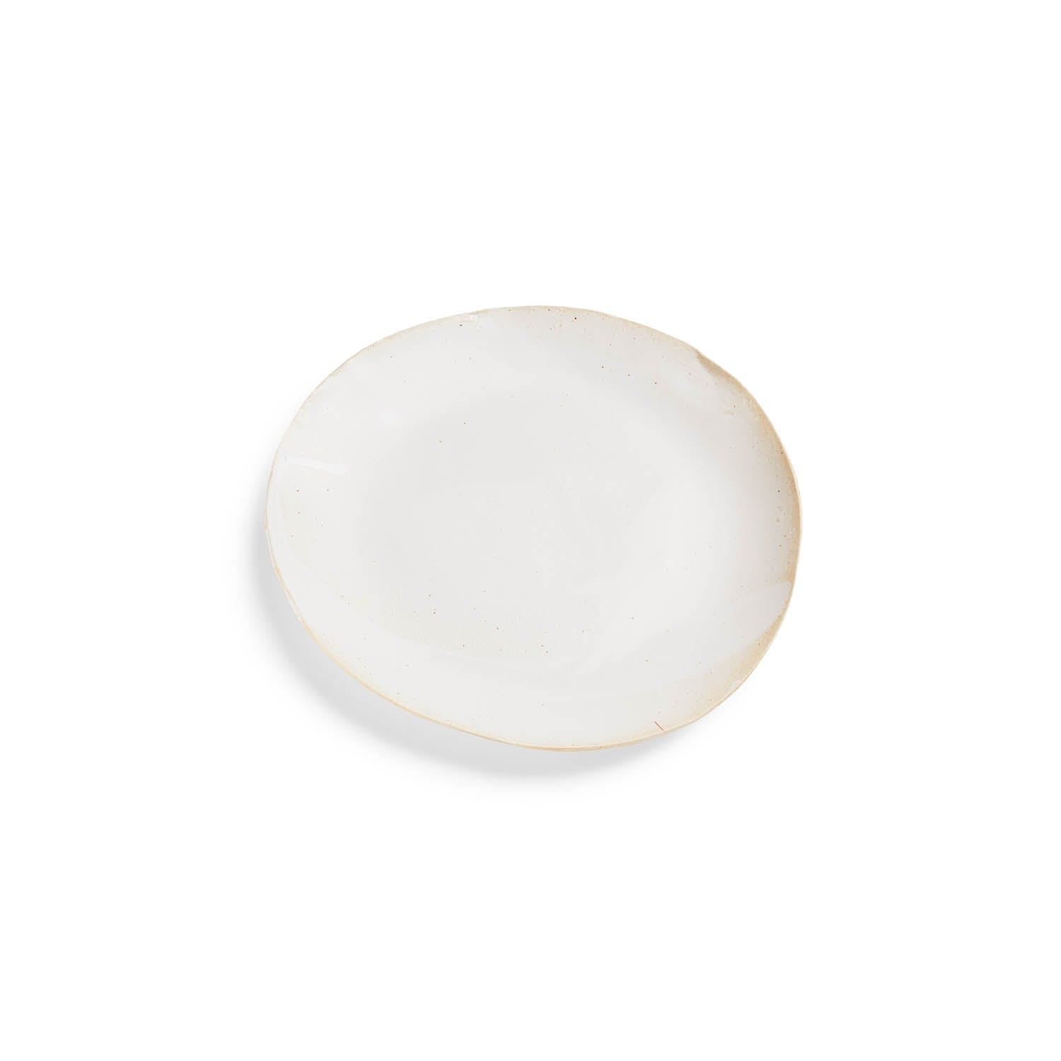 Jan Burtz Porcelain Dinner Plate White