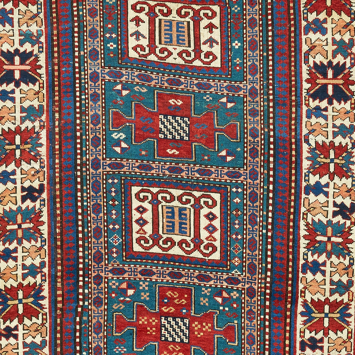 Antique Kazak Rug 4 X8 6 Abc Home