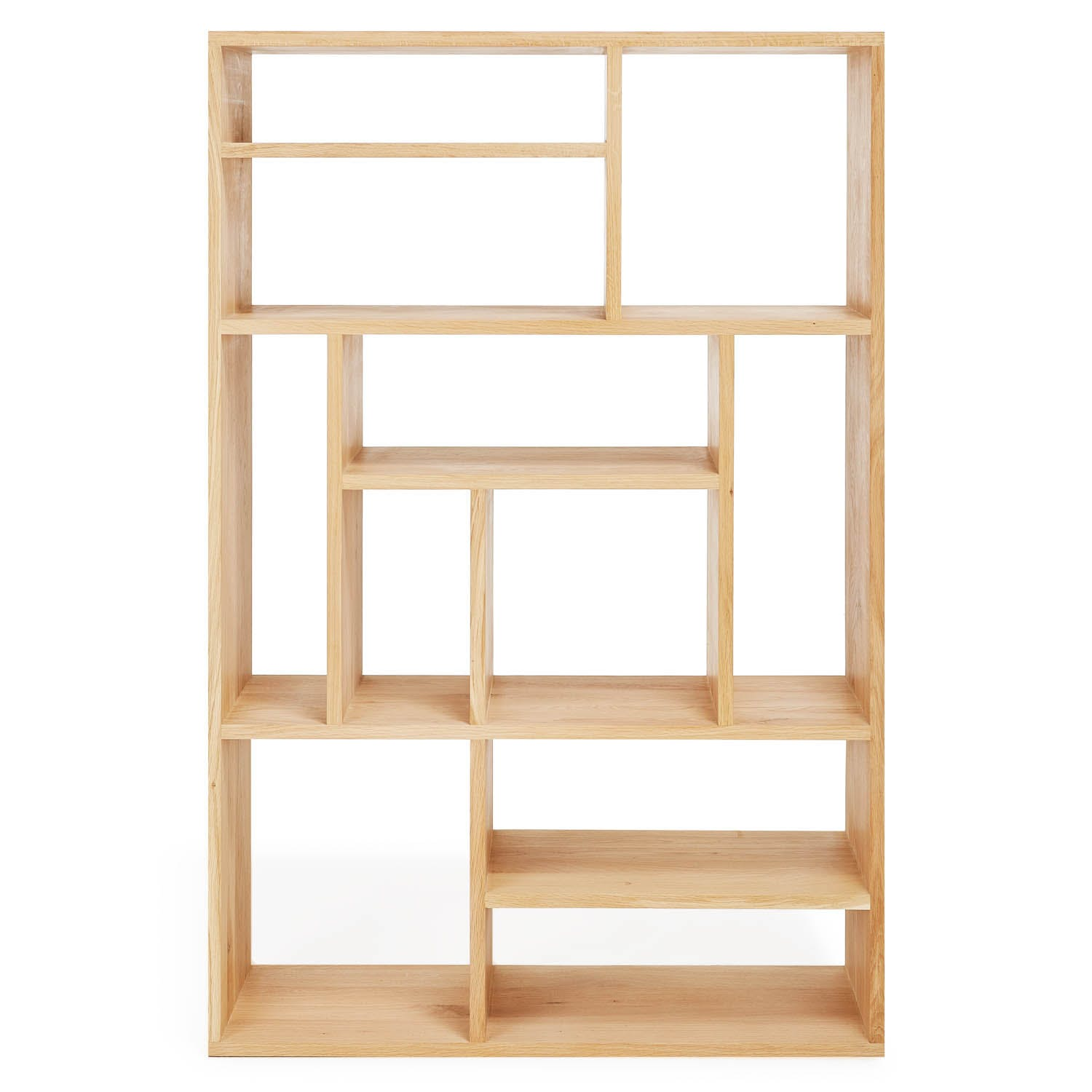 Product Image - Small Oak M Rack Bookcase