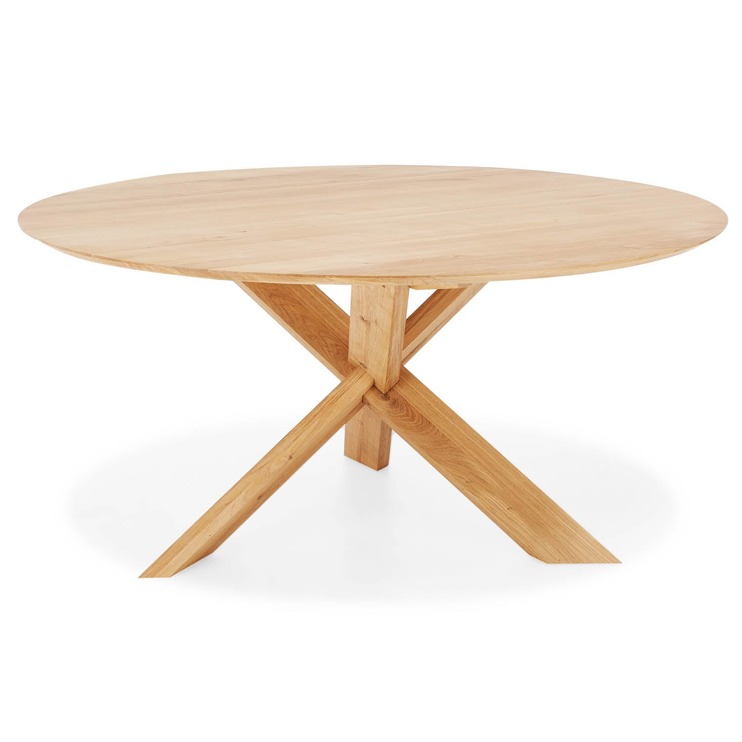 Product Image - Oak Circle Dining Tables
