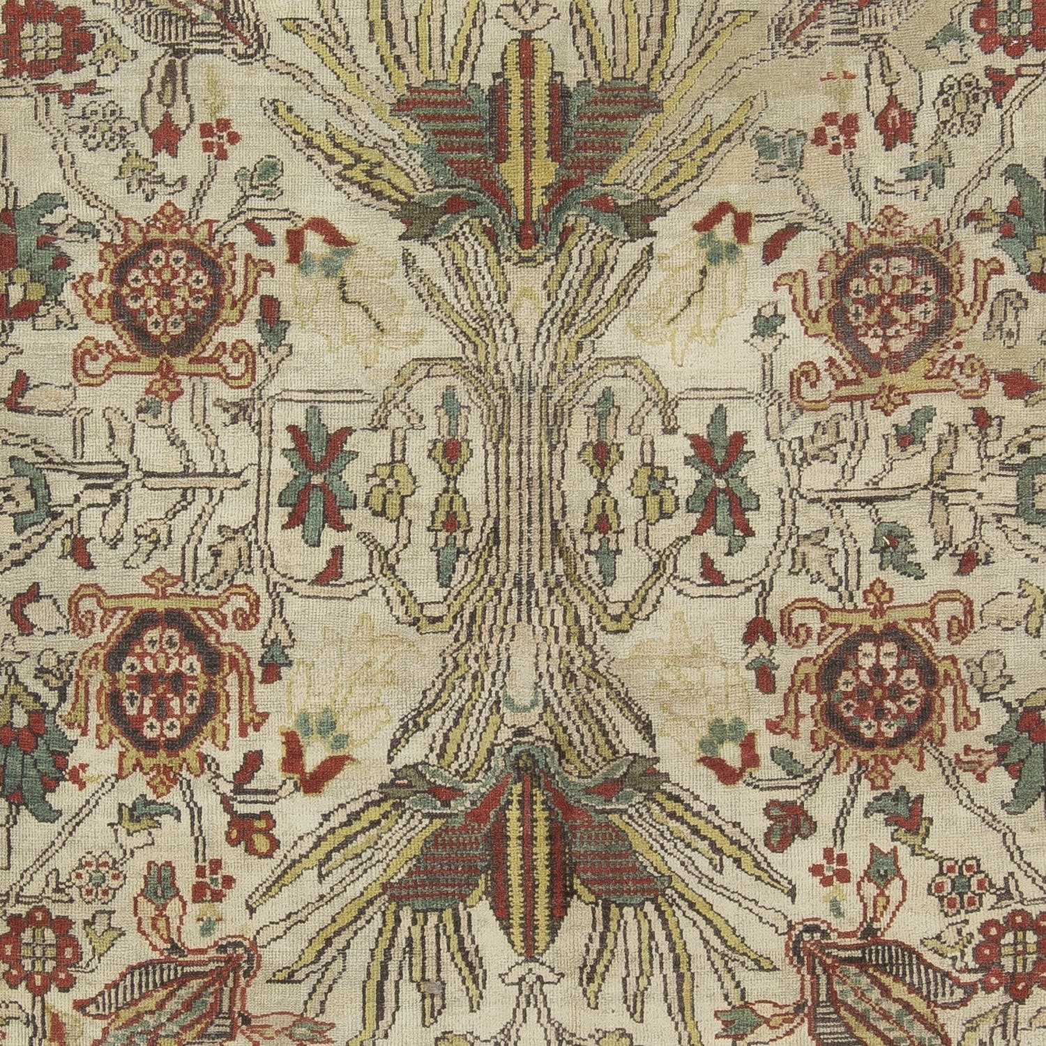 """Antique Sultanabad Wool Rug - 15'2""""x18'2"""""""