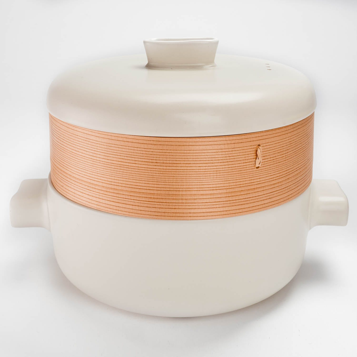 Product Image - Large White Steamer Set