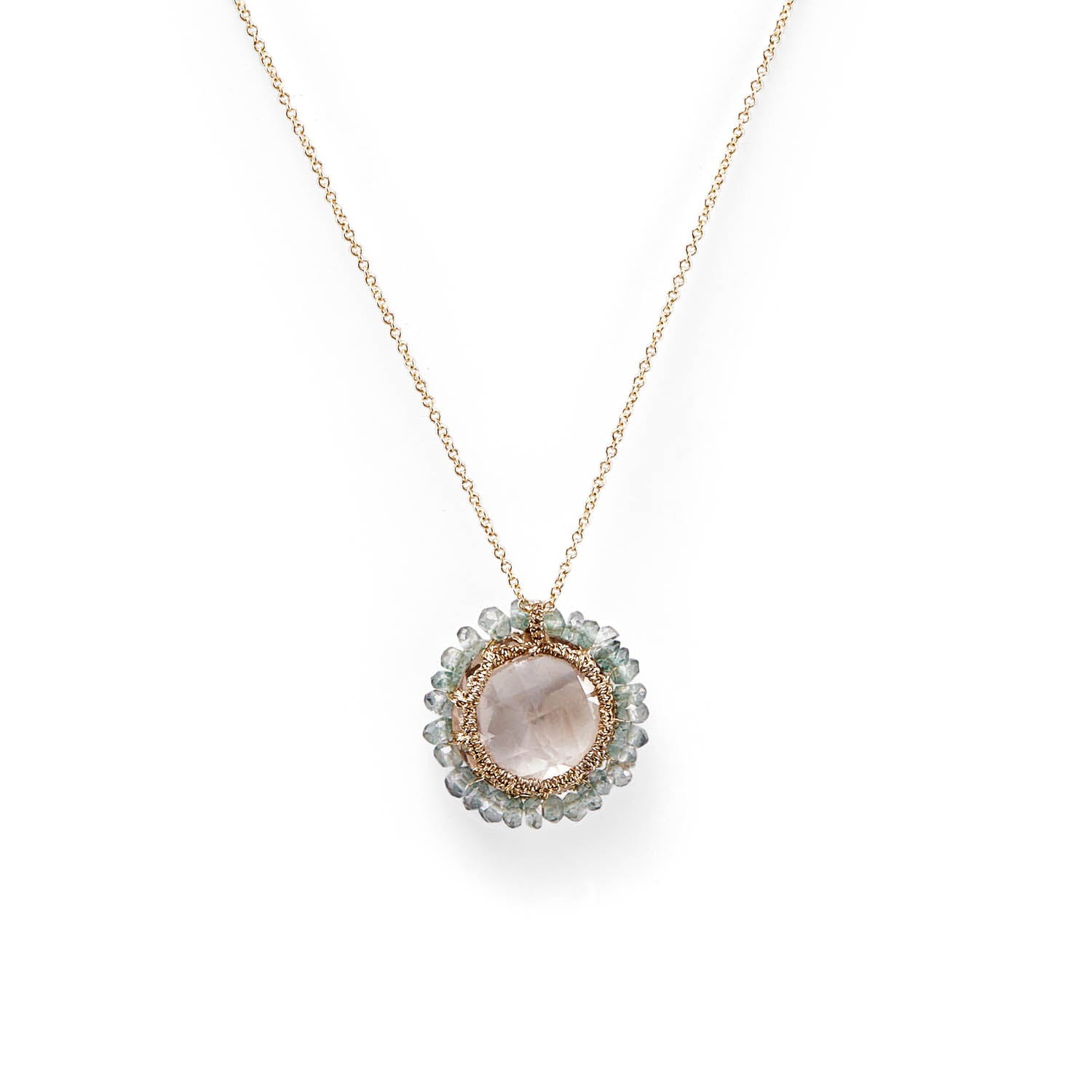 Product Image - Danielle Welmond Smoky Topaz Necklace