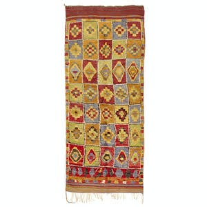 "Product Image - Vintage Moroccan Runner - 5'11""x15'3"""