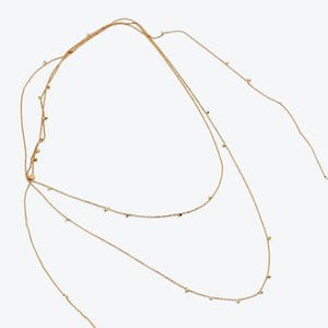 Product Image - Gold Dust Long Necklace