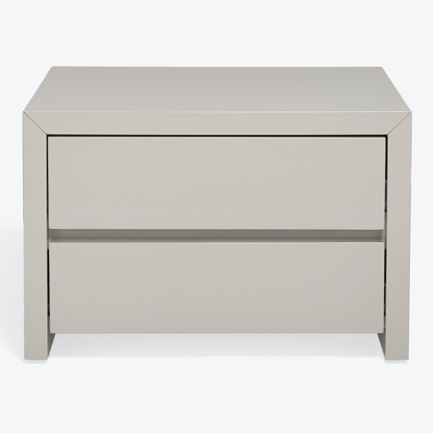 Product Image - Fresco 2 Drawer Lacquer Nightstand
