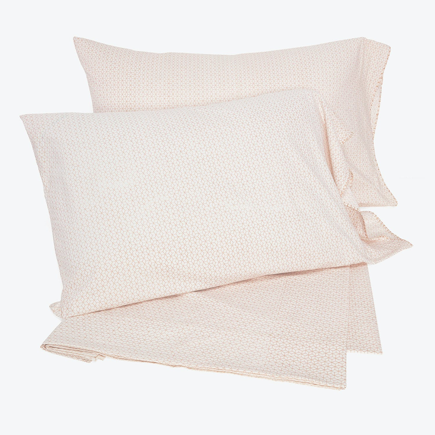 Product Image - Abcdna Haath Percale Sheet Set Pinwheel Shell