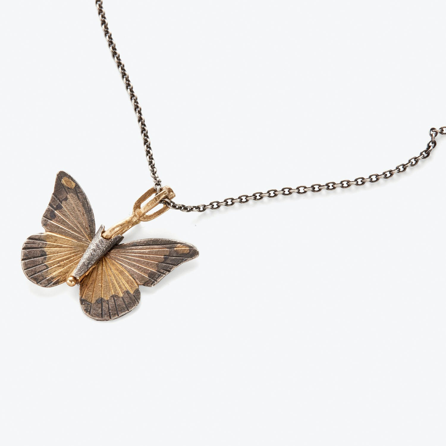 James Banks Albatross Butterfly Necklace