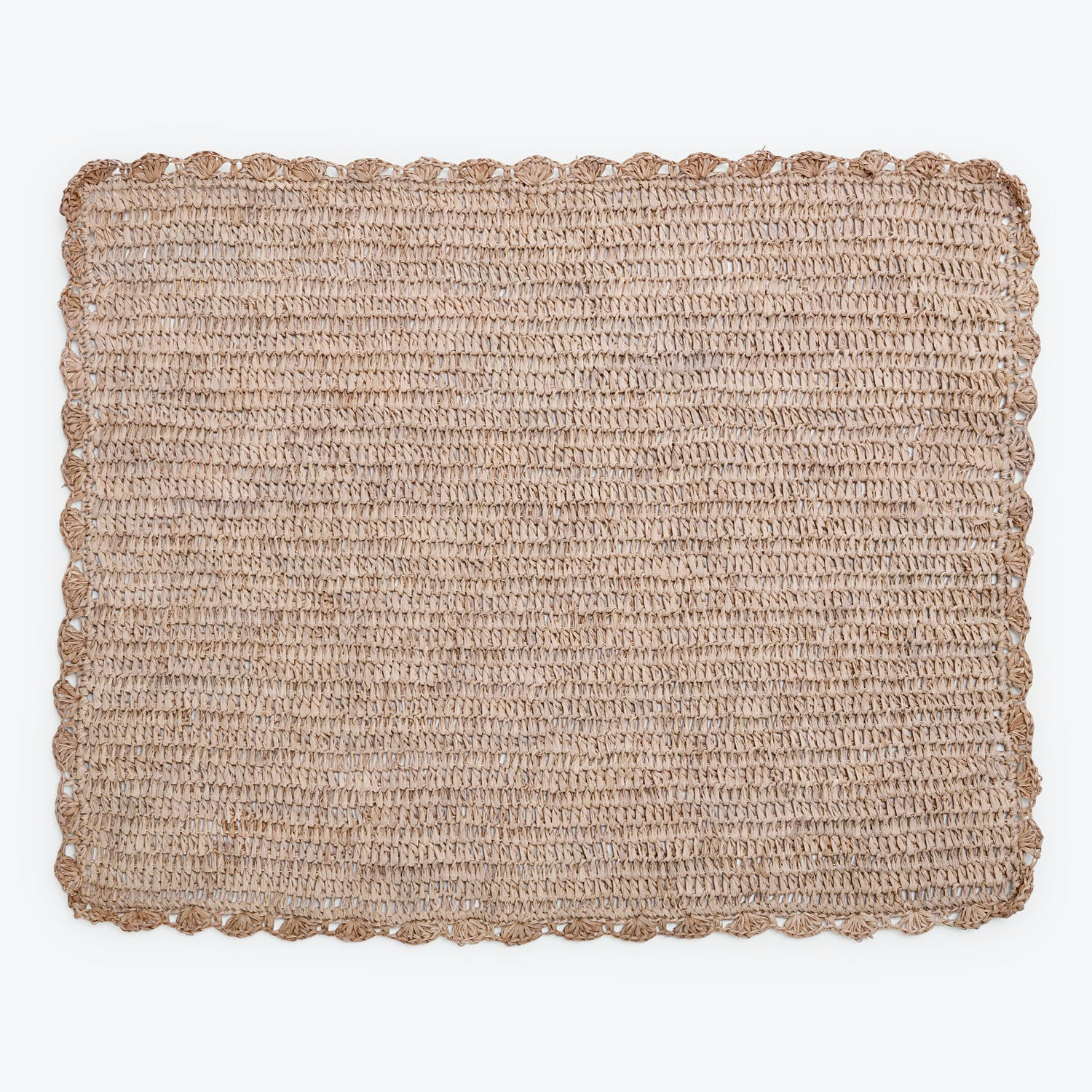 Sil'ouette Natural Raffia Placemat