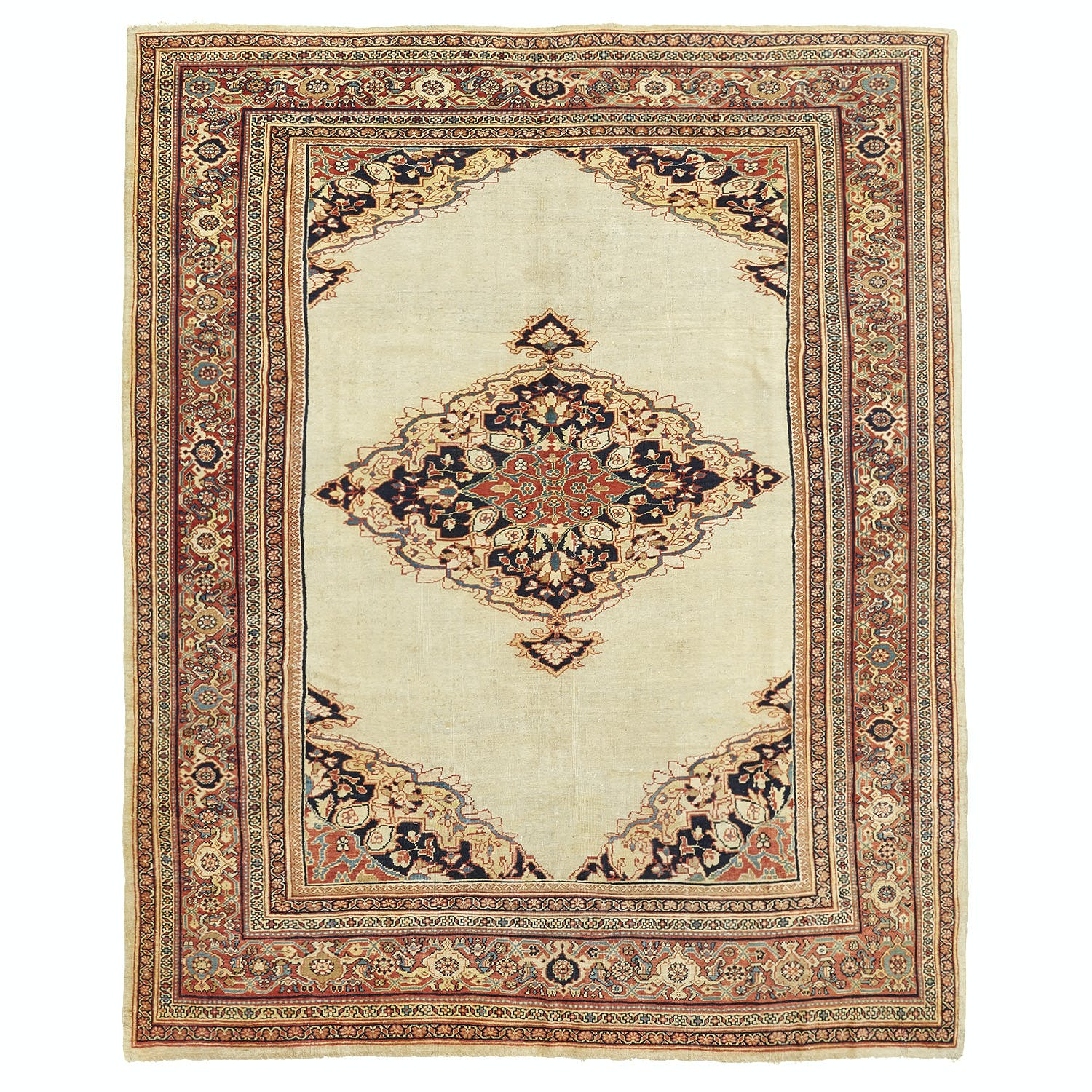 Product Image - Antique Mahal Rug - 9'x11'