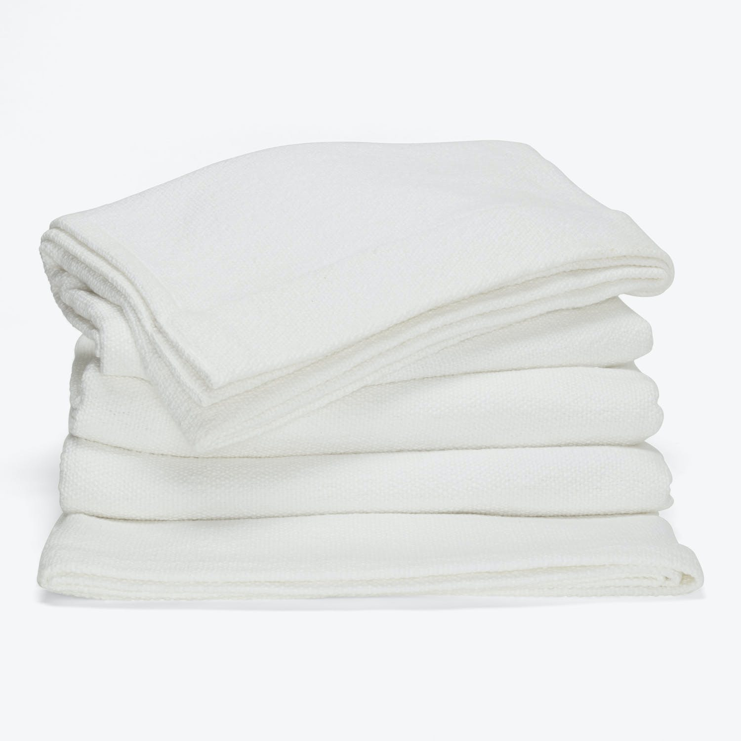 Product Image - Sefte Mila Woven Cotton Blanket King White