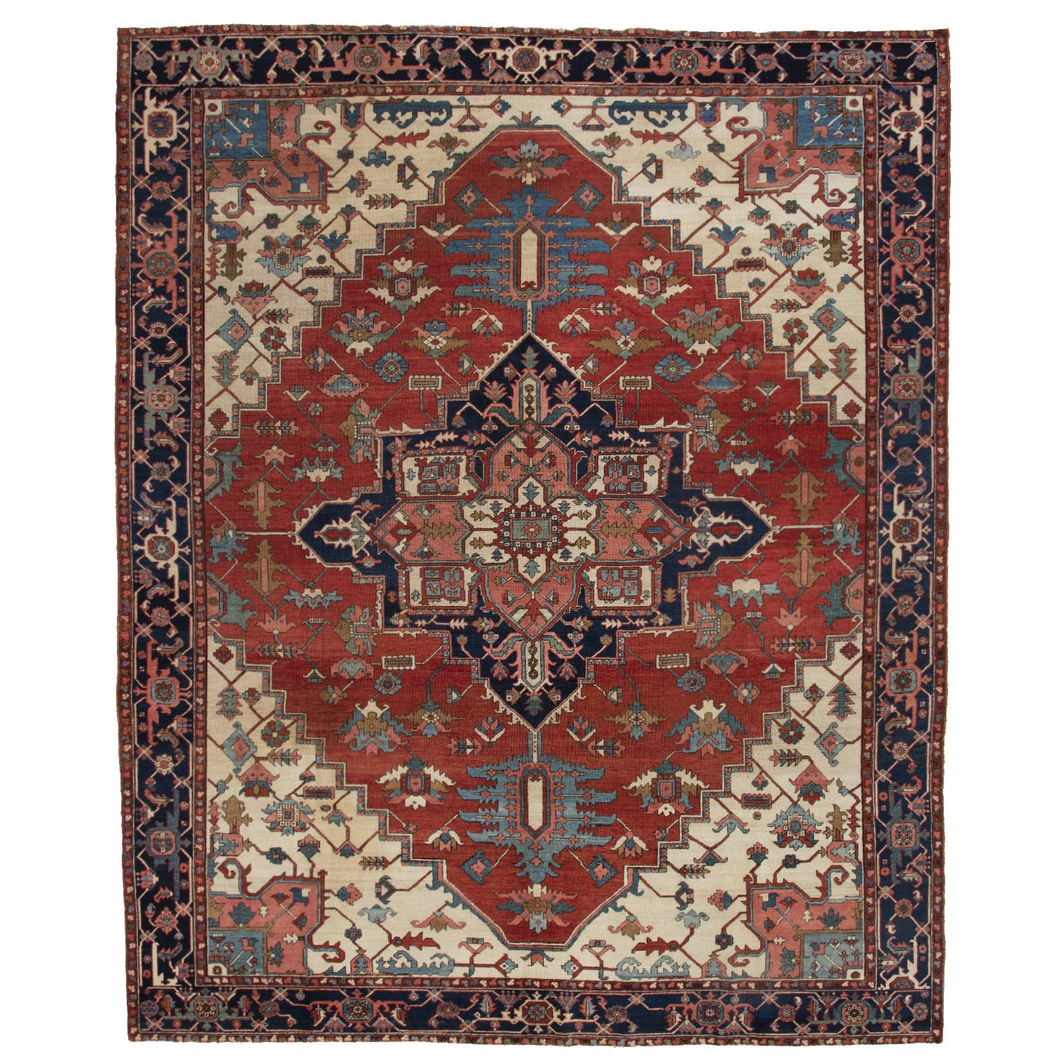 Product Image - Antique Serapi Rug -11'x13'