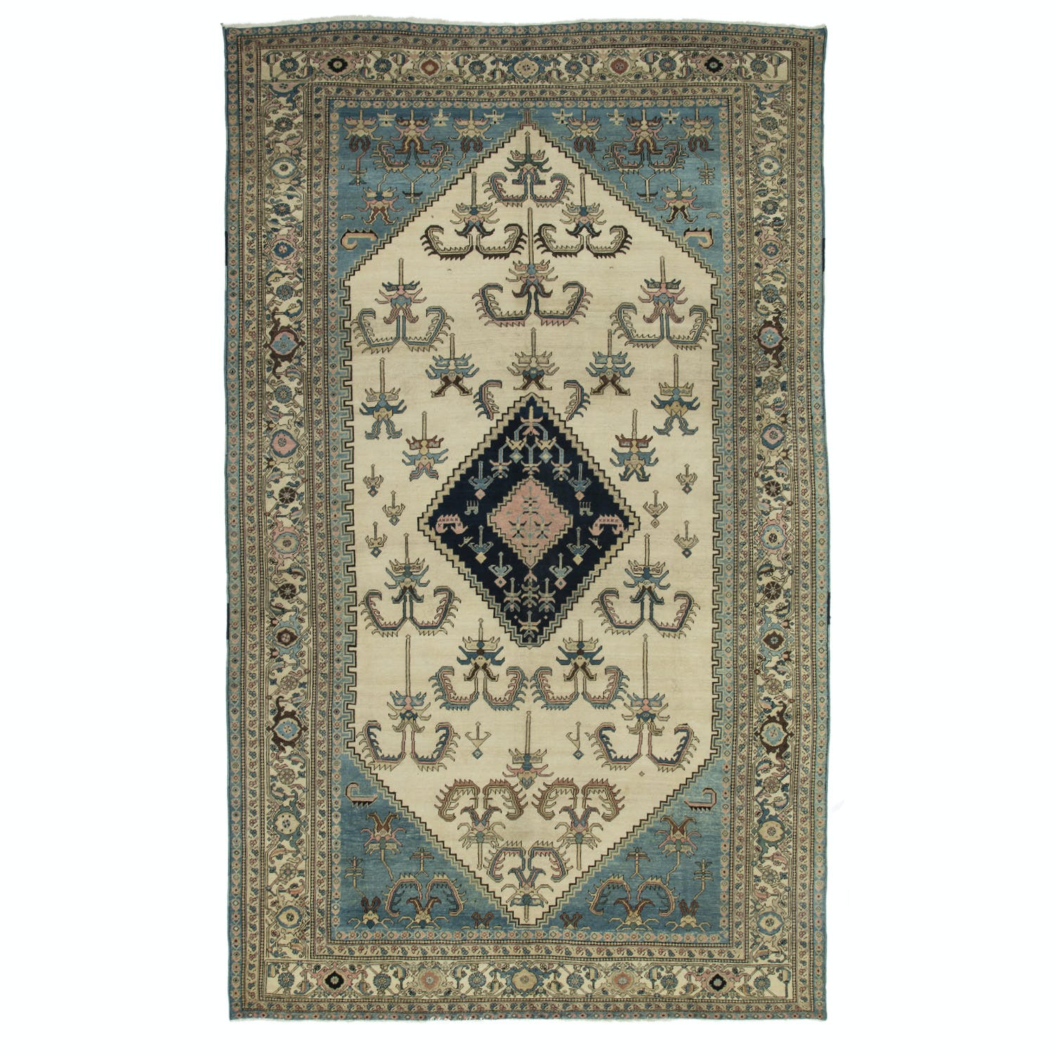 Product Image - Antique Bakhshaish Rug-9'x14'