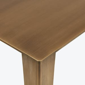 Product Image - En Pointe Small Brass Console