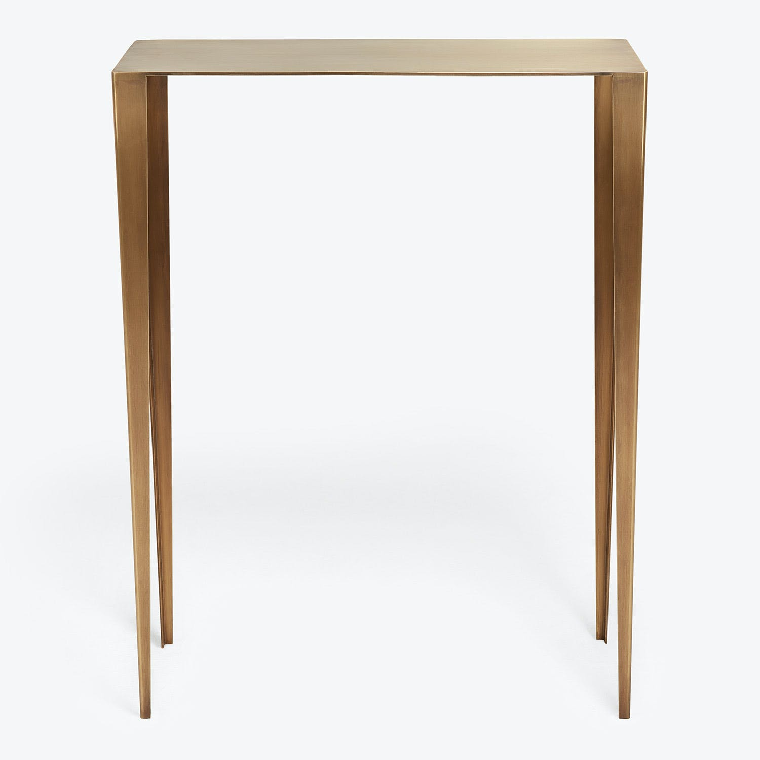 En Pointe Small Brass Console