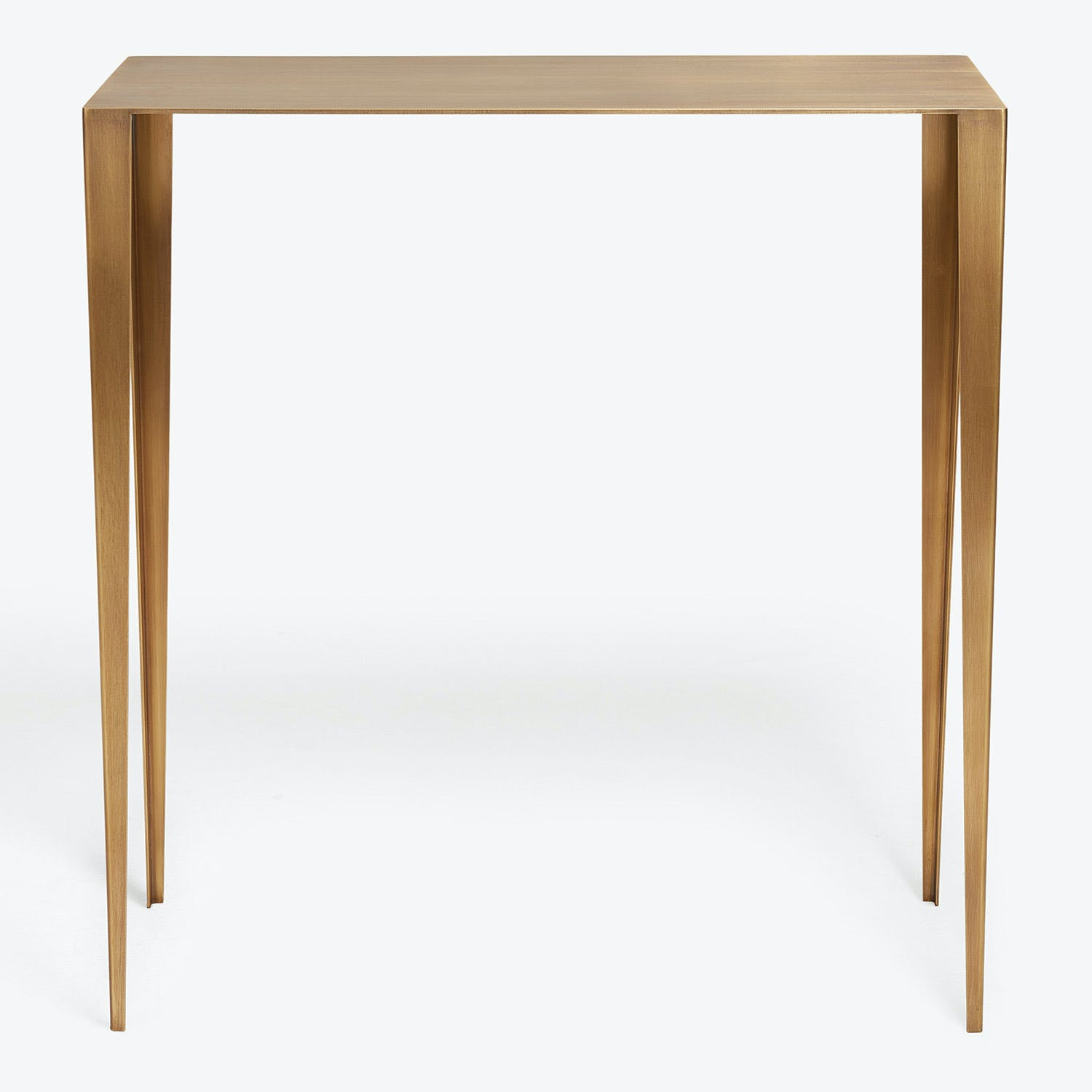Product Image - En Pointe Large Brass Console
