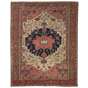 Product Image - Antique Heriz Rug - 10'x14'